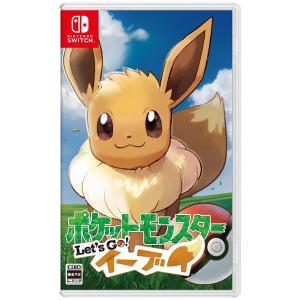 ポケモン (特典付)(Nintendo Switch)ポケットモンスター Let's Go! イーブイポケモン 返品種別B|joshin
