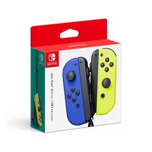 任天堂 (Switch)Joy-Con(L) ブルー/ (R) ネオンイエロー 返品種別B