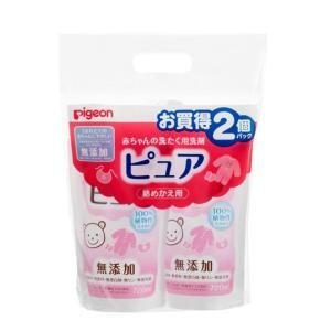 赤ちゃんの洗たく用洗剤ピュア720ml替 2個パック ピジョン (0ヵ月〜)ピユア720MLカエ2P 返品種別A|joshin