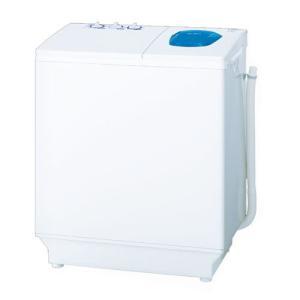 (標準設置 送料無料) 日立 6.5kg 2槽式洗濯機 ホワイト HITACHI 青空 PS-65AS2-W 返品種別A|joshin