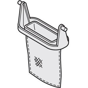 日立 洗濯機用糸くずフィルター 日立洗濯機用 NET-T50H2 返品種別A|joshin