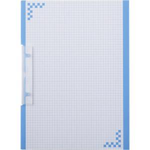ヒサゴ 折り込み下敷き付 キャリーバインダー A4タテ ブルー BH01A4B 返品種別A|joshin