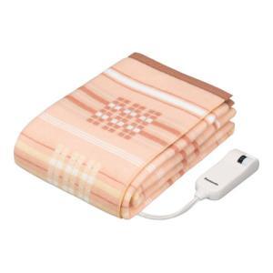 パナソニック 電気毛布(掛敷タイプ・200×140cm オレンジ) (暖房器具)Panasonic DB-R40L-D 返品種別A|joshin