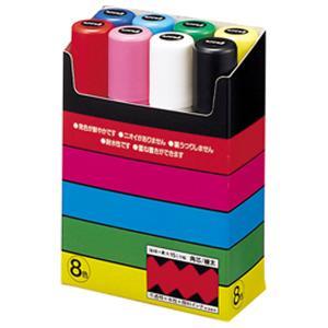 三菱鉛筆 ポスカ 極太角芯 8色 POSCA ...の関連商品5