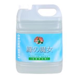 緑の魔女 洗濯用液体洗剤 業務用 5L ミマスクリーンケア ミドリノマジヨランドリ-5KG 返品種別A|joshin