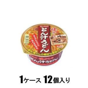 ニュータッチ 懐かしのとん汁うどん 80g(1ケース12個入) ヤマダイ ナツカシノトンジルウドン80GX12 返品種別B|joshin