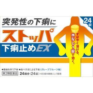 (第2類医薬品) ライオン ストッパ下痢止めEX 24錠  返品種別B|joshin