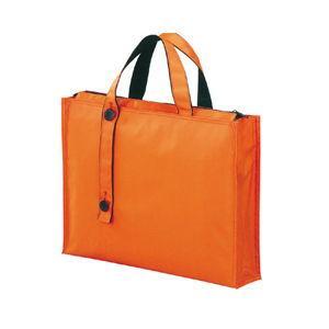 リヒトラブ キャリングバッグ 厚型(橙) キャリングバッグ[2ウェイタイプ] ワイド A7651-4 返品種別A|joshin