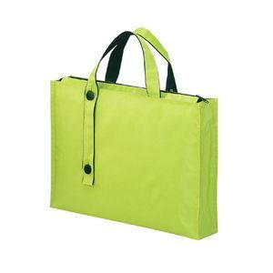 リヒトラブ キャリングバッグ 厚型(黄緑) キャリングバッグ[2ウェイタイプ] ワイド A7651-6 返品種別A|joshin