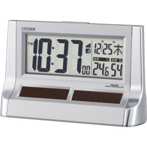 シチズン 目覚まし時計パルデジットソーラーR128-19 8...