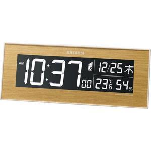 リズム時計 デジタル電波時計Iroria(イロリア) 8RZ180SR07 返品種別A joshin
