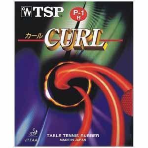 ティーエスピー 卓球ラバー(レッド) TSP カール P‐1R OX TSP-020513-0040...