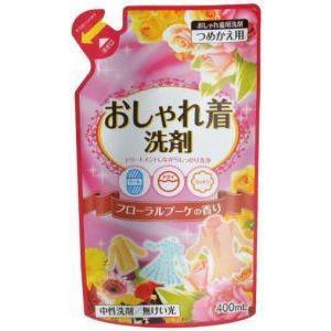 おしゃれ着洗い 詰替 400ml 日本合成洗剤 オシヤレギアライカエ 返品種別A|joshin