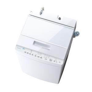 (標準設置 送料無料) 東芝 8.0kg 全自動洗濯機 グランホワイト TOSHIBA ZABOON...