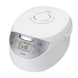東芝 IHジャー炊飯器(5.5合炊き) ホワイト TOSHIBA かまど銅コート釜 RC-10HK-W 返品種別A