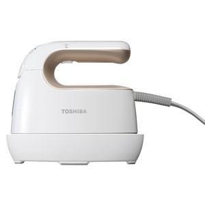 東芝 コードつき衣類スチーマー(ゴールドホワイト) TOSHIBA TAS-X3-NW 返品種別A|joshin