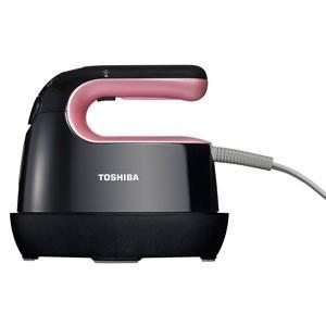 東芝 コードつき衣類スチーマー(ピンクブラック) TOSHIBA TAS-X3-PK 返品種別A|joshin