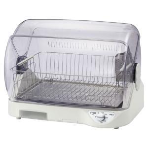 タイガー 食器乾燥器(ホワイト) TIGER サラピッカ 温風式 DHG-S400 返品種別A joshin