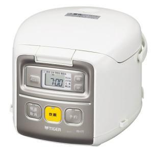 タイガー マイコン炊飯ジャー(3合炊き) ホワイト TIGER 炊きたてミニ JAI-R551W 返品種別A|joshin