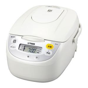 タイガー マイコン炊飯ジャー(5.5合炊き) ホワイト TIGER JBH-G101-W 返品種別A|joshin