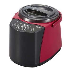 タイガー 精米器(1〜5合用) レッド TIGER 精米器(無洗米機能つき) RSF-A100-R 返品種別A