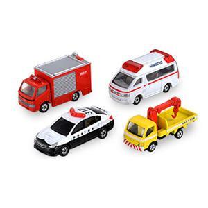 タカラトミー トミカ 緊急車両セット5トミカワールド 返品種別B|joshin