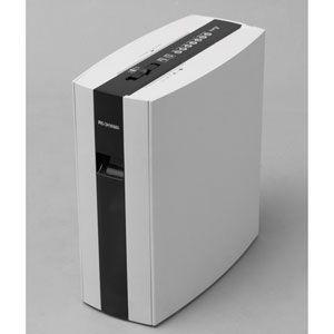 アイリスオーヤマ 細密シュレッダー PS5HMSD(ホワイト) PS5HMSD-W 返品種別A
