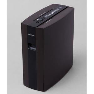 アイリスオーヤマ 細密シュレッダー PS5HMSD(ブラウン) PS5HMSD-BR 返品種別A