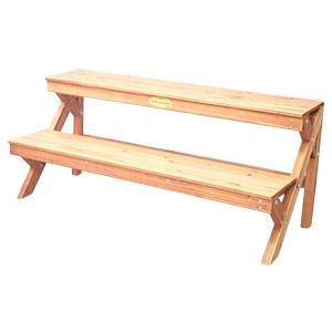 アイリスオーヤマ 木製フラワースタンド (ブラ...の関連商品7