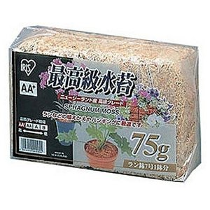 アイリスオーヤマ 最高級水苔 (75g) サイ...の関連商品8