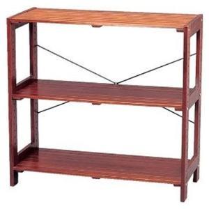 在庫状況:入荷次第出荷/◆ナチュラルテイストのインテリア性の高い木製ラックです。◆カラーは、木目を生...