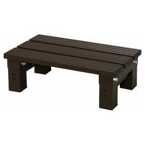 在庫状況:入荷次第出荷/◆多用途に使用できる軽くて丈夫なアルミスノコです。◆玄関での踏み台や、盆栽や...