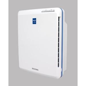 アイリスオーヤマ PM2.5対応空気清浄機(14畳まで ホワイト/ ブルー) IRIS OHYAMA PMAC-100 返品種別A|joshin