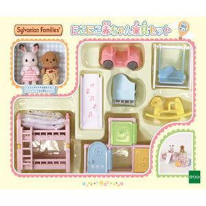 エポック社 にこにこ赤ちゃん家具セット(セ-193)シルバニアファミリー 返品種別B