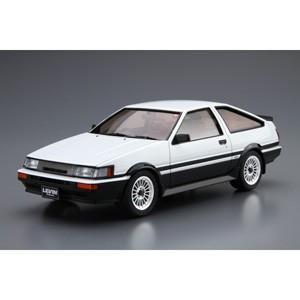 アオシマ 1/ 24 ザ・モデルカー No.17 トヨタ AE86 カローラレビンGT-APEX'85(05225)プラモデル 返品種別B