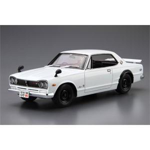 アオシマ (再生産)1/ 24 ザ・モデルカー No.26 ニッサン KPGC10 スカイラインHT2000GT-R '71(05232)プラモデル 返品種別B