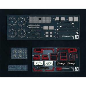 アオシマ 1/ 24 ディテールアップパーツ No.3 トヨタ VG45 センチュリーLタイプ '90 共通ディテールアップパーツセット(53690)ディテールアップパーツ 返品種別B|joshin
