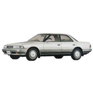 アオシマ (再生産)1/ 24 ザ・モデルカー No.63 トヨタ GX81 マークII 2.0グランデツインカム24 '88(54840)プラモデル 返品種別B|joshin