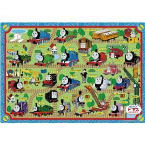 アポロ社 ピクチュアパズル ひらめき脳 きかんしゃトーマス せんろをつなごう 35ピース板パズル 返品種別B