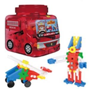 在庫状況:在庫僅少/※画像はイメージです。実際の商品とは異なる場合がございます。赤透明の消防車型の目...