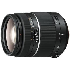 ソニー 28-75mm F2.8 SAM ※Aマウント用レンズ(フルサイズ対応) SAL2875 返...