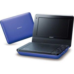 ソニー 7型ポータブルDVDプレーヤー(ブルー) CPRM対応 SONY DVP-FX780-L 返品種別A