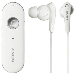 ソニー ノイズキャンセリング搭載Ver.3.0 Bluetoothヘッドセット(ホワイト) SONY MDR-EX31BN-W 返品種別A|joshin