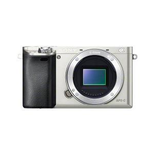 ソニー ミラーレス一眼カメラ「α6000」ボディ(シルバー) SONY ILCE-6000-S 返品種別A joshin