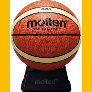 モルテン バスケットボール Molten サインボール 直径約15cm 2号球 置き台付き MT-BGG2 返品種別A joshin