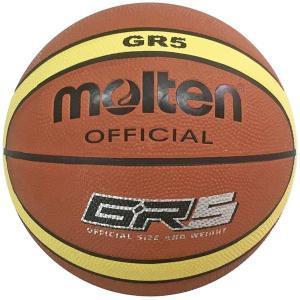 モルテン バスケットボール 5号球 (ゴム) Molten GR5 ジウジアーロ BGR5MY 返品...