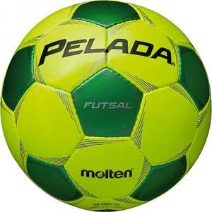 モルテン フットサルボール Molten ペレーダフットサル YGRN 4号球 MT-F9P3000YG 返品種別A|joshin