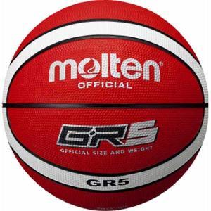 モルテン バスケットボール Molten GR5 バスケットボール 5号球 レッド×ホワイト MT-BGR5RW 返品種別A joshin