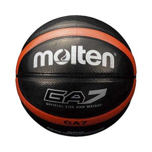 モルテン バスケットボール Molten GA 7号球 ブラック MT-BGA7KO 返品種別A|joshin