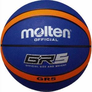モルテン バスケットボール Molten GR5 バスケットボール 5号球 ブルー×オレンジ MT-BGR5BO 返品種別A|joshin